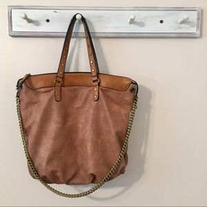 ChillX Large Leather Bag